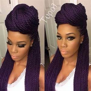 40 Senegalese Twist Hairstyles for Black Women ...