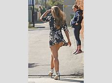 Ronda Rousey flashes underwear in Los Angeles Daily Mail
