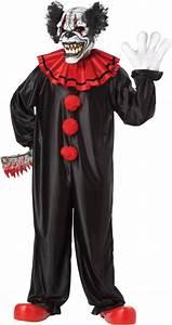 Adult Last Laugh Evil Clown Costume - Party City