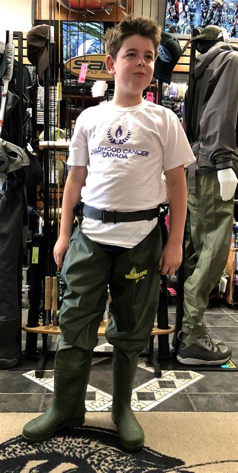 youth waders
