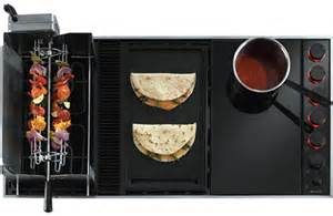 Downdraft Electric Cooktop with Grill