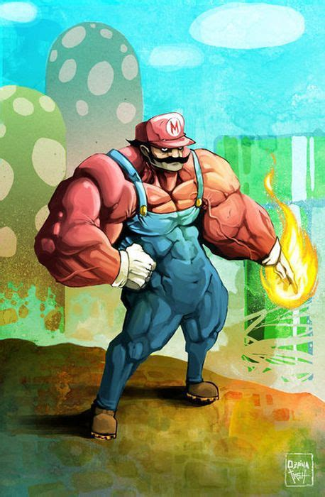 Awesome Super Mario Bros Fan Art 97 Pics