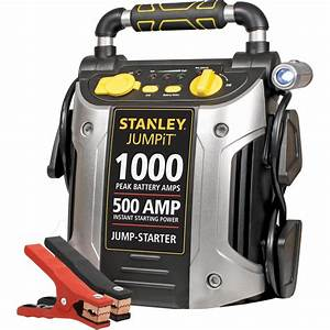 Stanley 1000  500 Amp 12v Jump Starter With Led Light And