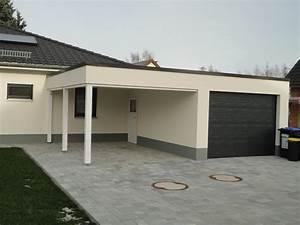 Garage Mit Carport : garage carport kombination carport scherzer ~ Orissabook.com Haus und Dekorationen