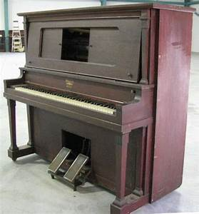 Howard Manualo Upright Player Piano – Antique Piano Shop