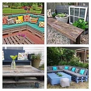 Deco Jardin Pas Cher : salon de jardin palette bois fabrication avantages ~ Premium-room.com Idées de Décoration