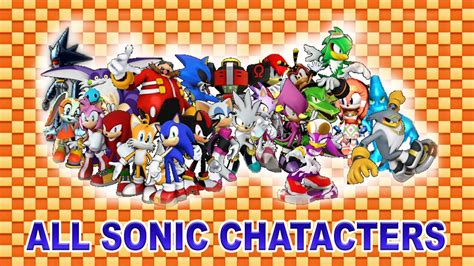 Sonic Characters (all)