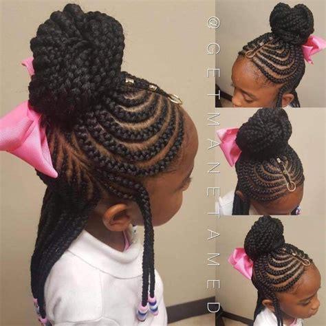 kids braids braids with beads tribal braids fulani