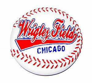 Wrigley Field Baseball Magnet Great Chicago Gifts