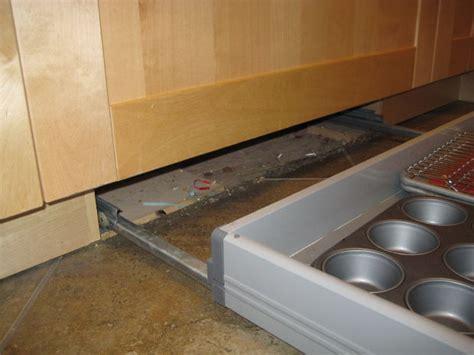 kitchen cabinets without toe kick toe kick drawer design decoration 8191
