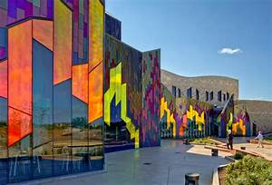 VernerJohnson Sets Museum Ablaze with Dichroic Glass ...