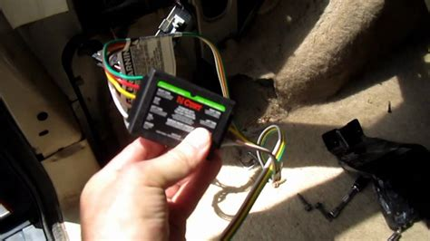 Jeep Cherokee Trailer Wiring Harness Youtube