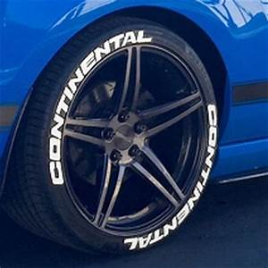 continental tire lettering tire stickers With continental tires white letters