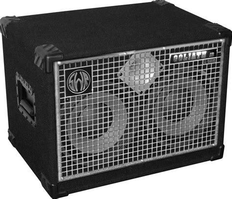 swr goliath junior iv 2x10 bass speaker cabinet 8 ohm