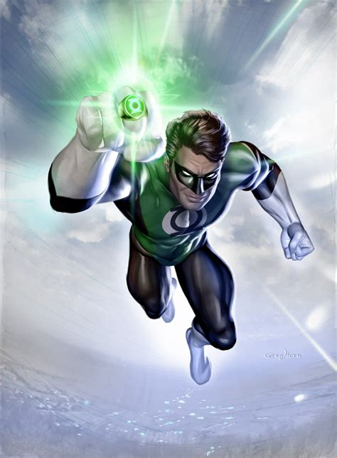 picture of green lantern hal