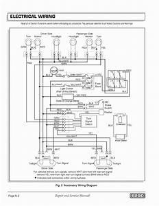 Wiring Diagram For Ezgo Golf Cart