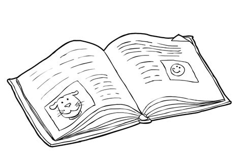 book coloring pages coloringsuitecom