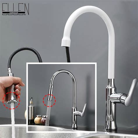 white pull kitchen faucet kitchen faucet pull out and cold kitchen mixer copper