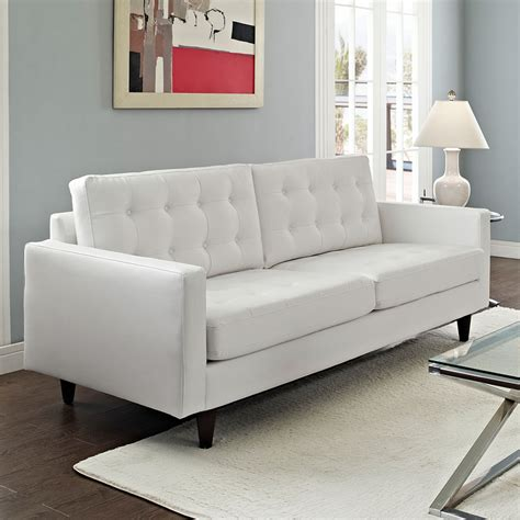 Contemporary White Leather Sofas by Modern White Leather Sofas Sofa Modern White Leather Thesofa