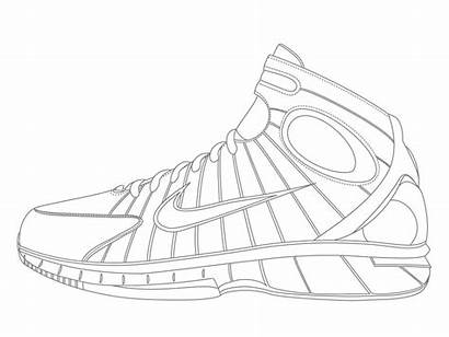 Air Drawing Jordans Jordan Coloring Trainers Getdrawings