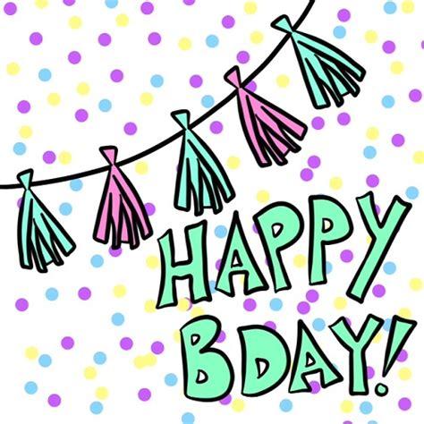 birthday tassel garland  happy birthday ecards greeting cards