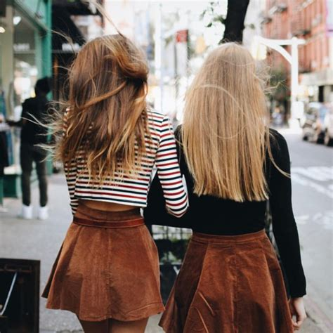 Skirt shirt brown skater skirt chic city outfits ...