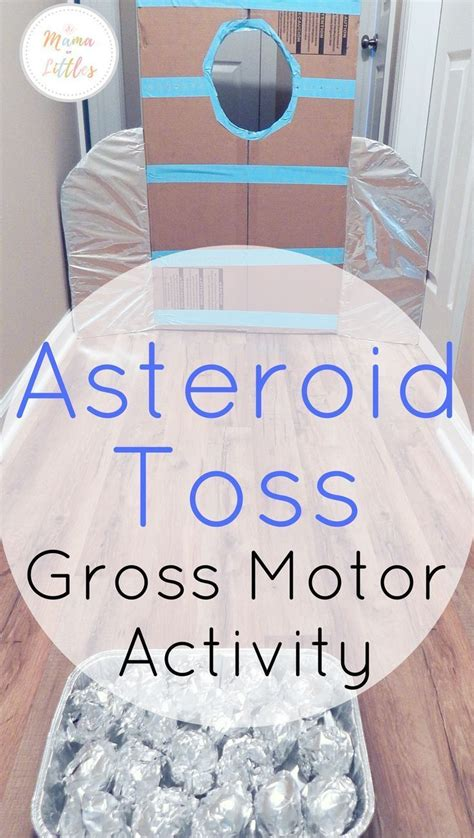 space themed asteroid activities  toddlers gross