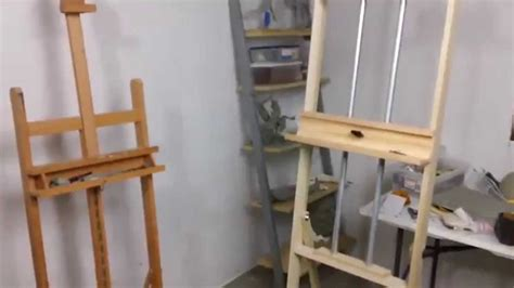 build   art easel   plans art resource