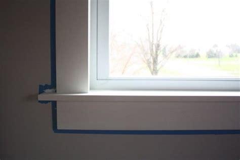 modern window sill  happy   clean sleek
