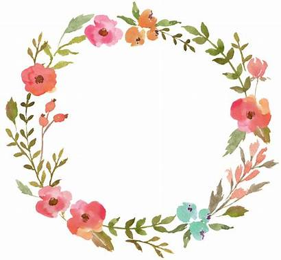 Flower Transparent Ring Watercolor Prayer Graphics Pages