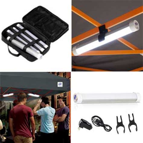 canopy lighting rechargeable  mounting clips