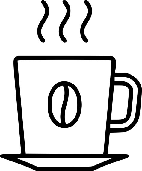Find and download more transparent png images. Hot Coffee Svg Png Icon Free Download (#483606 ...