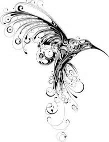 charmming tribal hummingbird tattoo | BusBones