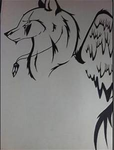Drawings on Pinterest | Wolf Drawings, Tribal Wolf and ...