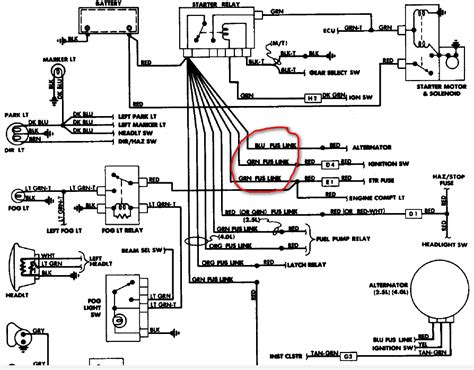 1988 jeep wrangler ignition wiring diagram 1988 jeep wrangler ignition wiring diagram 42 wiring