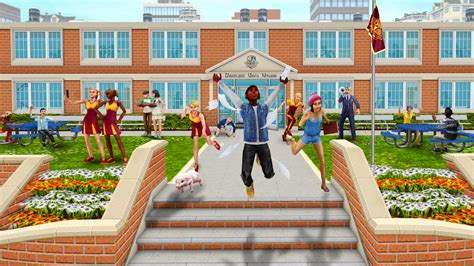 Sims Freeplay Second Floor Mall Quest by Downtown High School Update The Sims Freeplay