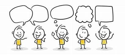 Kommunikation Strichfiguren Meeting Strichmaennchen Supervision Talking Nr