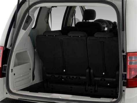 image  dodge grand caravan  door wagon sxt trunk