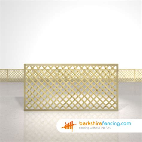 6ft Fence Panels With Trellis by Rectangle Trellis Fence Panels 3ft X 6ft