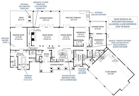luxury kitchen floor plans archival designs announces top luxury house plan for 2012