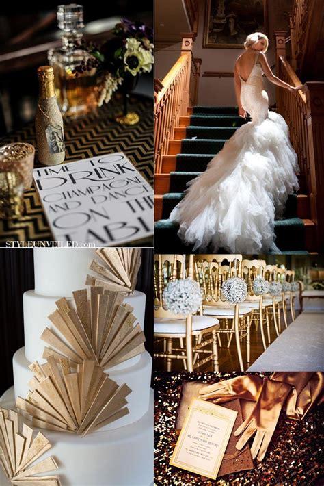 Gatsby themed wedding Gatsby wedding theme Gatsby