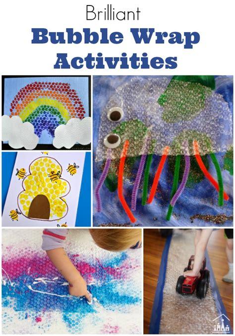 brilliant bubble wrap crafts  kids crafty kids  home