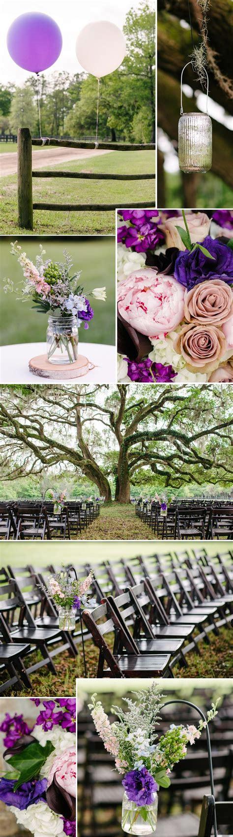 Blumen Hochzeit Dekorationsideenblumen Hochzeit Deko In Lila by Hochzeit Lila Wei 223 Vom Brautstrau 223 Bis Zur Deko In