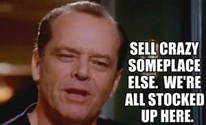 """Jack Nicholson in """"As Good As It Gets"""" 