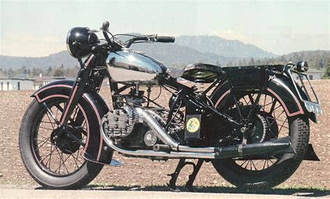 1936 Puch P800 792cc 4-cylinder Boxer Engine