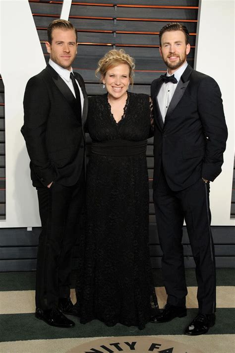 Chris Evans Shared His Big Night at the Oscars With His ...
