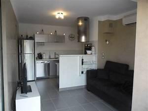 Locations annuelles et etudiantes appartement t2 f2 presqu for Location appartement meuble hyeres