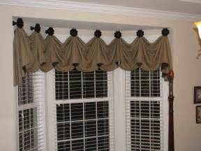 kitchen bay window ideas bay window valance distinctive designs