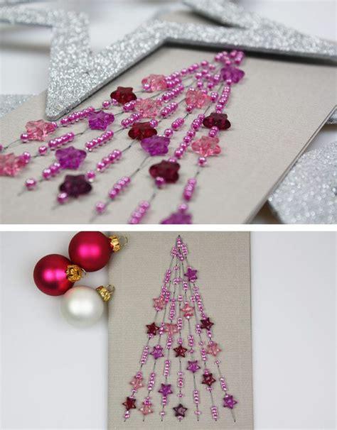 pin von deindiy auf weihnachtskarten perlen basteln
