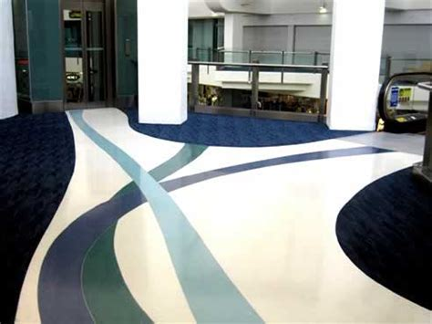 Architectural Terrazzite the terrazzo flooring alternative